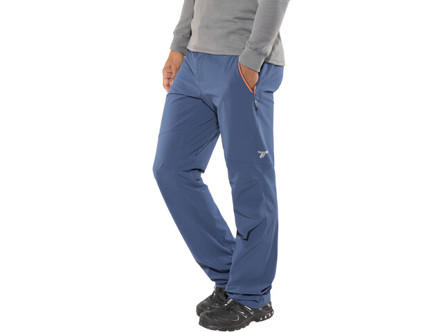 "Columbia Titan Peak Pants 32"" Men, carbon/heatwave"